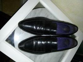 Damen Leder-Halbschuh-Slipper von MELVIN & HAMILTON (Choukair)-Gr. 37 -schwarz