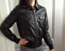 Damen Lederjacke von Dakota Braun Echtes Leder Größe M 36/38