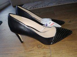 Damen Lederpumps Gr. 36 Mango Violeta neuwertig