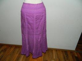 Apriori Lniana spódnica fiolet Len