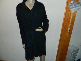H&M Manteau en tricot noir coton