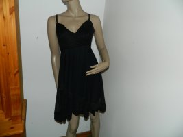 0039 Italy Lange top zwart
