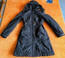 H&M Cappotto invernale nero Poliestere
