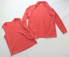 Damen Oberteil Bekleidungs-Set von Atelier GS in Gr. 38 Jacke Blazer Cardigan TOP Sommerjacke