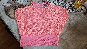 Colloseum Siateczkowa koszulka pomarańczowy