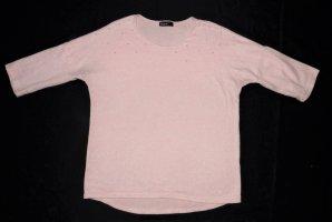 Damen Oberteil von Janina Gr. 36 / S Tunika Pulli Pullover Tunika sehr guter Zustand rosa