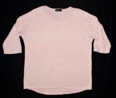 Damen Oberteil von Janina Gr. 36 / S Tunika Sommerpulli Pulli Pullover Tunika sehr guter Zustand rosa