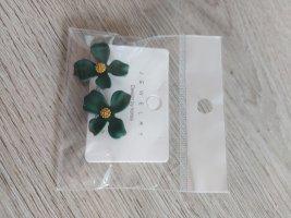 Sheinside Zarcillo color oro-verde bosque