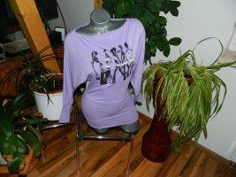 Kbk Koszulka oversize liliowy