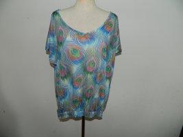 Promod Camisa holgada turquesa-azul