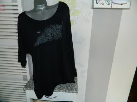 Soaked in luxury Camisa holgada negro Viscosa
