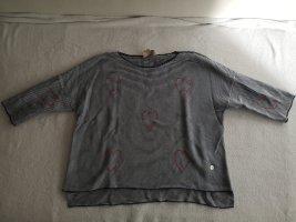 Lieblingsstück Short Sleeve Sweater white-blue