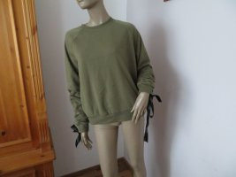 Even & Odd Sweat Shirt olive green polyester