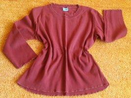 Damen Pullover leichter Baumwolle Gr.S in Bordeaux von Angels NW