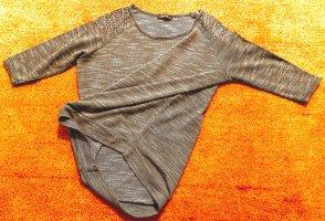 Damen Pullover Pailletten Feinstrick Gr.40 in Grau von Janina
