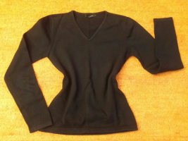 B.young V-Neck Sweater black cotton