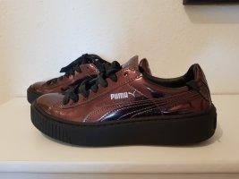 Damen Puma Sneaker Metallic