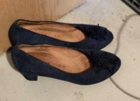 Gabor Peep Toe Pumps donkerblauw-blauw