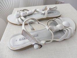 Marco Tozzi Sandalias de tacón de tiras blanco