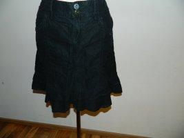 Esprit Falda asimétrica negro Algodón