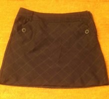 Flame Mini-jupe brun foncé polyester