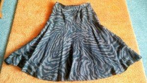 Alexander Flared Skirt grey brown-taupe wool