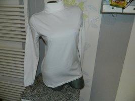 b.p.c. Bonprix Collection Koszulka z golfem biały Bawełna
