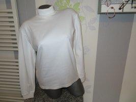 United Colors of Benetton Camisa de cuello de tortuga blanco