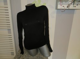 Orsay Camisa de cuello de tortuga negro Viscosa