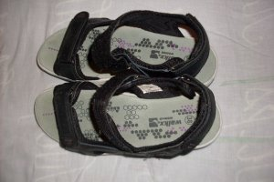 Walkx Women Comfortabele sandalen zwart