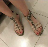 City Walk Roman Sandals grey brown-oatmeal