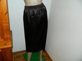 Tafzijde rok zwart