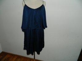 Bik Bok Shirt Tunic dark blue polyester