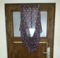 Écharpe d'été noir-violet