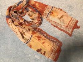 Damen Schal Tuch Damenschal Seidentuch 100% Seide