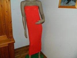 Boohoo Sukienka tuba jasnoczerwony-czerwony Poliester