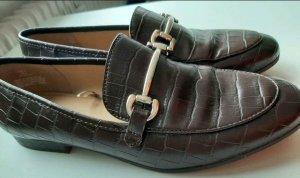 H&M Slippers black brown