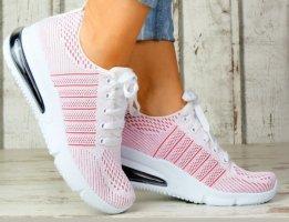 100% Fashion Sneakers met veters roségoud