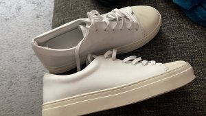 COS Zapatos brogue blanco