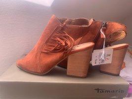 Damen Schuhe  gr 37 Tamaris Echt Leder  -Velours