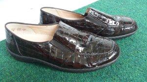 ara Sneakersy wciągane brązowy-ciemnobrązowy