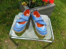 TMA'Time Sandalias para uso en exteriores azul tejido mezclado