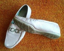 Damen Schuhe Leder Mokassins Gr.38 in Rosa von Siader