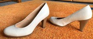 Damen Schuhe Pumps Gr.38 in Creme von Graceland NW