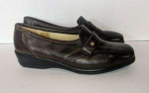 GOLDKRONE Pantofola marrone scuro