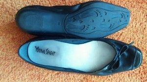 Damen Schuhe Sommer Ballerina Gr.39 in Schwarz von Young Spirit NW