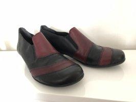 Damen Schuhe Stiefelletten 38 Pumps Übergangsschuhe rot schwarz neuwertig