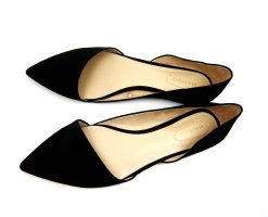 Mango Ballerinas with Toecap black