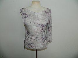 keine ahnung One Shoulder Shirt lilac-lilac