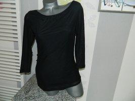 Flame Top à manches longues noir polyester